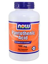 Pantothenic Acid 500 mg