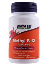 Methyl B-12 1,000 mcg