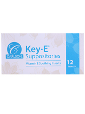All Natural Key-E Suppositories