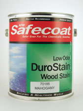 Safecoat Low Odor DuroStain Wood Stain - Mahogany