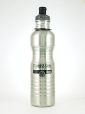 32-Oz Stainless Steel Water Bottle with Sports Cap