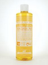18-in-1 Hemp Citrus Orange Pure-Castile Soap