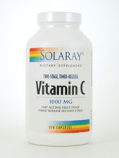 Two-Stage, Timed-Release Vitamin C 1,000 mg