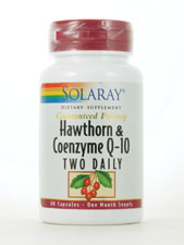 Hawthorn & Coenzyme Q-10 Two Daily