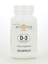 D-3 Cholecalciferol 1,000 IU