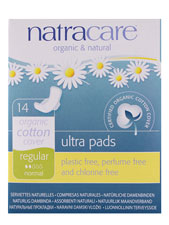Natural Ultra Pads - Regular