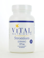 Strontium (Citrate) 227 mg