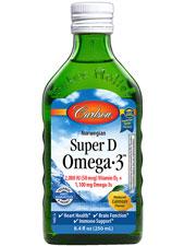 Super D Omega-3 - Lemon Flavor