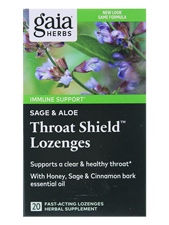 Sage & Aloe Throat Shield