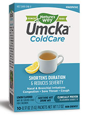 Umcka ColdCare Soothing Hot Drink - Lemon Flavor