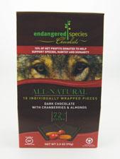 Dark Chocolate w/ Cranberries & Almonds 72% Cocoa