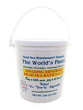 Amazing Minerals Dead Sea Bath Salts