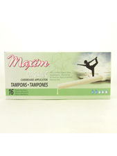 Applicator Organic Tampons - Regular Absorbency