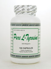 Pure L-Tyrosine 500 mg