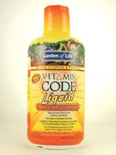 Vitamin Code Liquid Multivitamin - Orange-Mango