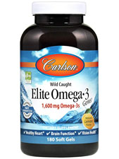 Elite Omega-3 Gems Fish Oil