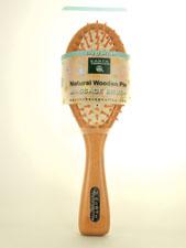 Natural Wooden Pin Massage Brush