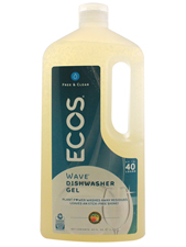 Free & Clear Ecos Wave 100% Natural Auto Dishwasher Gel