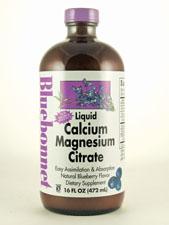 Liquid Calcium Magnesium Citrate-Blueberry Flavor