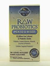 RAW Probiotics - Men 50 & Wiser