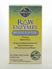 RAW Enzymes - Men 50 & Wiser