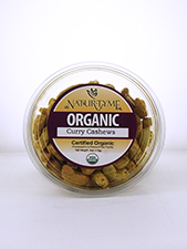 Organic Curry Cashews