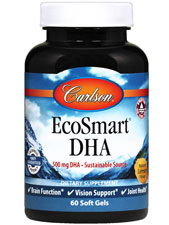 EcoSmart DHA 500 - Lemon Flavored