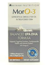 MorO-3 Omega-3 Fish Oil Triglyceride Form-Orange