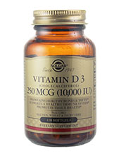 Natural Vitamin D3 (Cholecalciferol) 10,000 IU