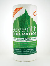 Recycled Paper Towels Right-Size 2-Ply 156 Sheets