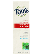 Fluoride-Free Propolis & Myrrh Toothpaste - Peppermint