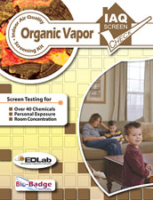 Organic Vapor Screen Check