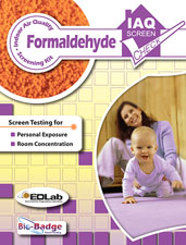 Formaldehyde Screen Check