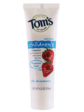 Fluoride-Free Children's Toothpaste - Strawberry