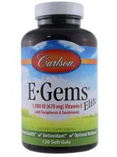 E-Gems Elite 1,000 IU