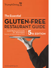 The Essential Gluten-Free Restaurant Guide - 5th Edition