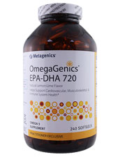 OmegaGenics EPA-DHA 720 - Natural Lemon Lime Flavor