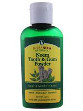 Neem Tooth & Gum Powder - Gentle Mint Therape