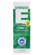 Unique E Natural Vitamin E Oil
