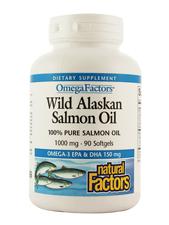 Wild Alaskan Salmon Oil 1,000 mg