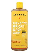 Authentic African Black Soap - Tangerine Citrus