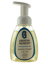 Foaming Unscented Hand Soap with MSM
