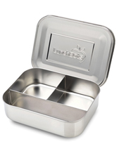 Trio Stainless Steel Divided Container