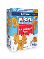 Gingerbread Men Cookies - GF