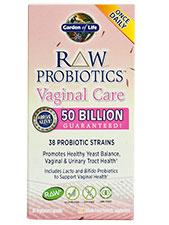Raw Probiotics Vaginal Care Capsules