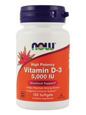 Highest Potency Vitamin D-3 5000 IU