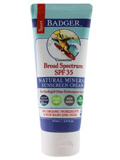 Broad Spectrum SPF 35 Unscented Zinc Oxide Sunscreen Cream