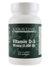 Vitamin D-3 50 mcg (2000 IU)