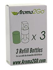 3 Refill Bottles