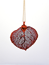 Aspen Lace Leaf Necklace